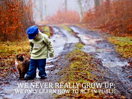 Inspirational Quotations - Growing Up