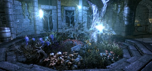 Gamification: Screenshot of the fantasy, medieval game, Skyrim