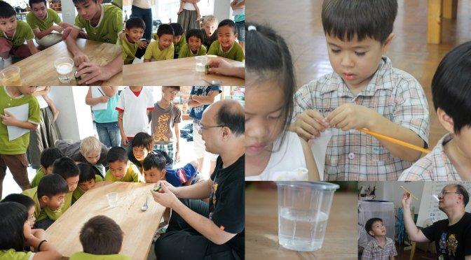 แยกน้ำด้วยไฟฟ้า (Electrolysis of Water) ทำของเล่นลูกดอกหลอดกาแฟ