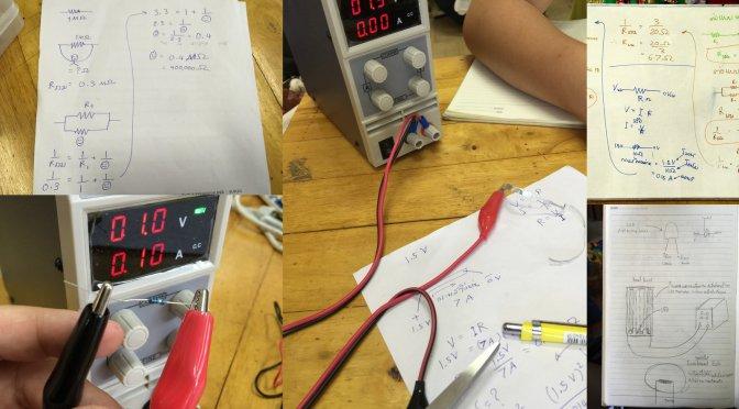 สอนวิทย์มัธยม 1: ความร้อนจากกระแสไฟฟ้า ลองต่อ LED เล่นกัน