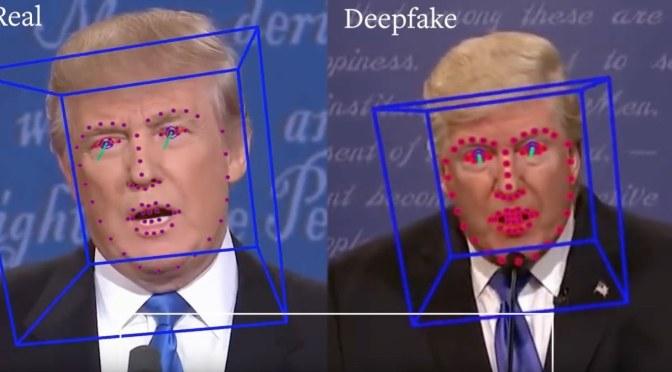 ลิงก์เรื่องการสังเคราะห์คลิปภาพยนต์และเสียงด้วย AI (ข่าวปลอม, DeepFakes)