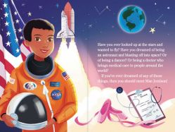 """You Should Meet Mae Jemison"" by Laurie Calkhoven Diverse Books"