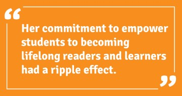 empower students to becoming lifelong readers