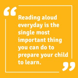 reading aloud everyday is important