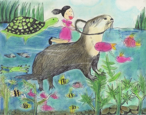 Travel with a Beaver by Ellie, age 7