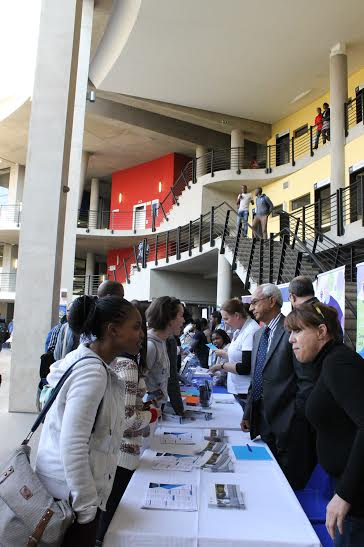 LISTEN UP: Students interested in doing a post-grad in Accounting hear what's on offer. Photo: Ilanit Chernick
