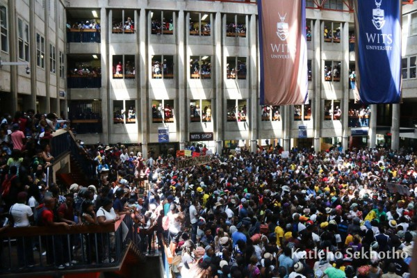 ACCLAIMED: Senate House was renamed Solomon House by student protesters during last year's #FeesMustFall protests. The new name will soon be official.
