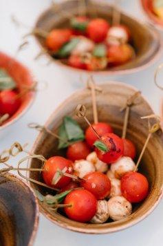 Tomaten Mozarella Spieß