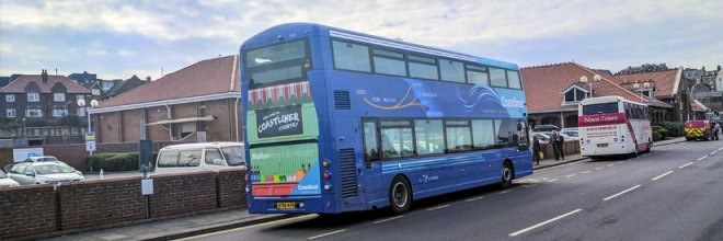 A Yorkshire Coastliner Gemini waiting time in Whitby