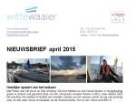 Knipsel Nieuwsbrief april 2015
