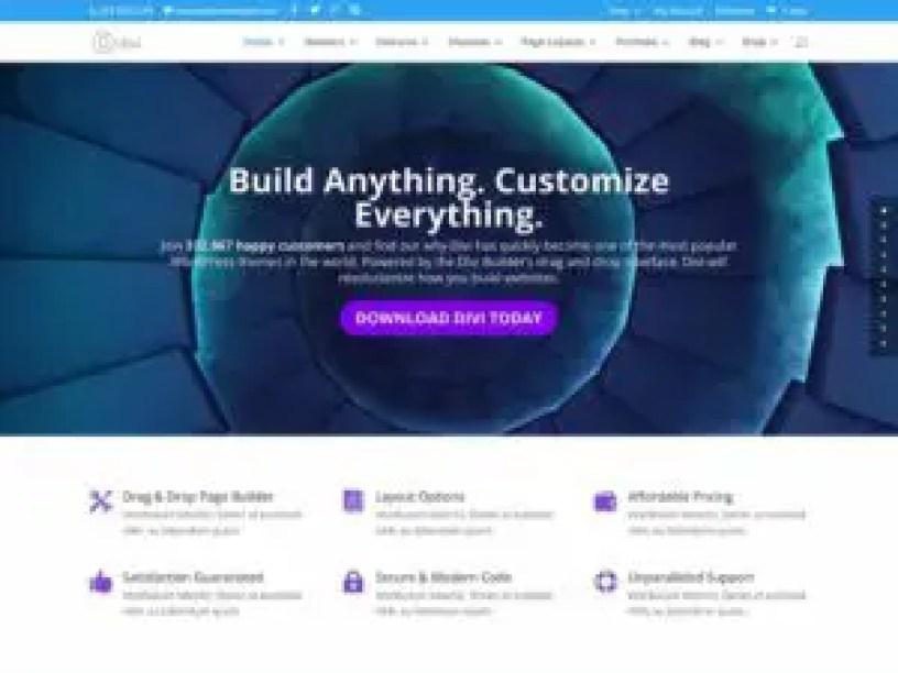 Divi - One the Best Premium Wordpress Themes