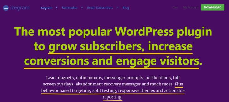 Icegram - One of the Best WordPress Popup Plugins
