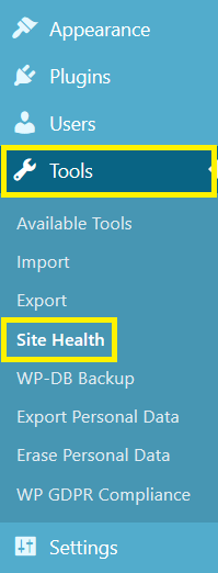 "Site Health Status In WordPress 5.2 ""Jaco"""
