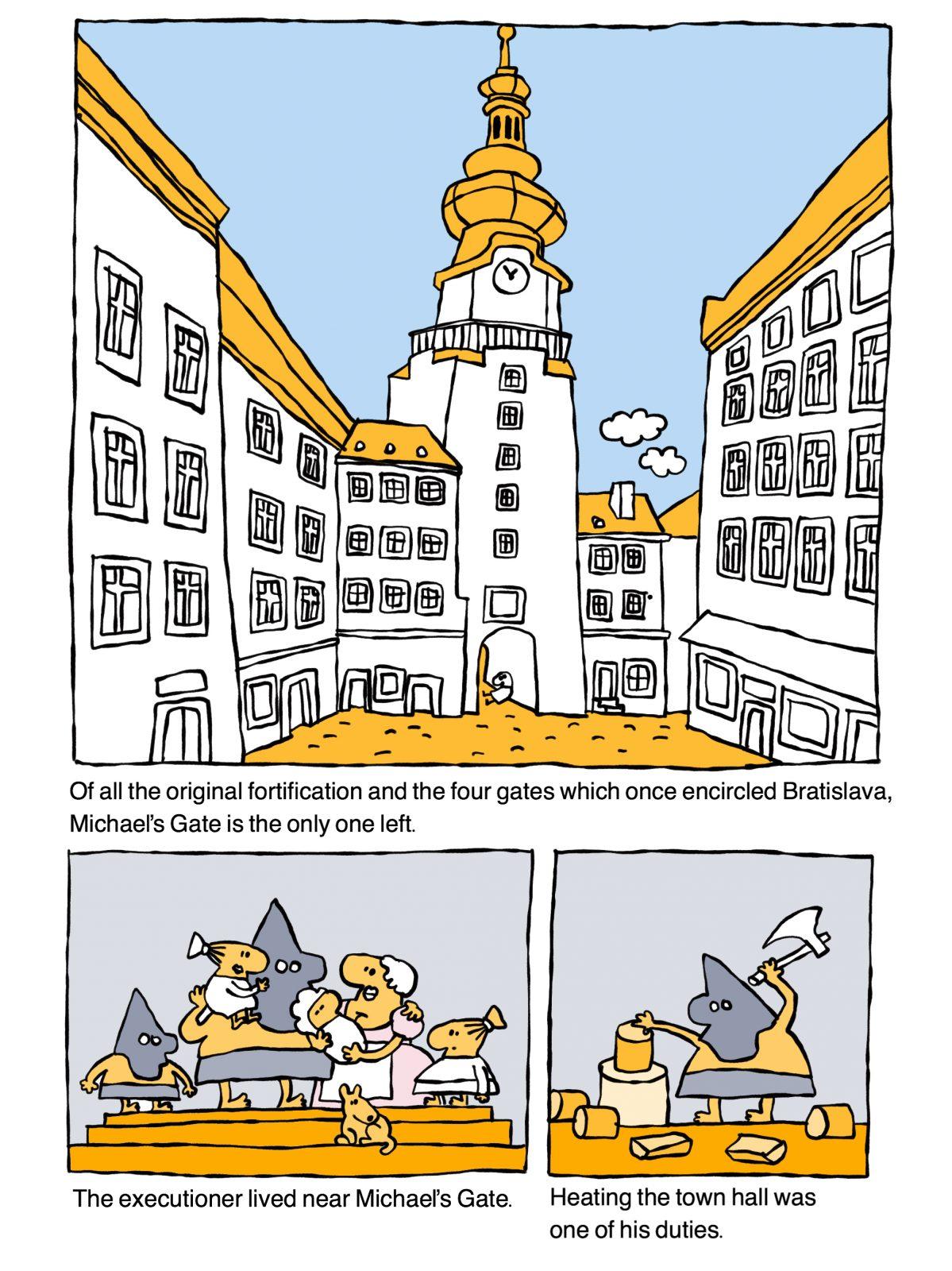 Bratislava, executioner, wittyguide
