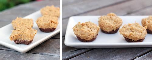Peanut butter chocolate cups phera dinner desserts witty vows