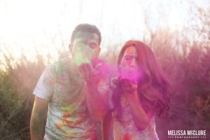 holi-powder-engagement_on Witty Vows