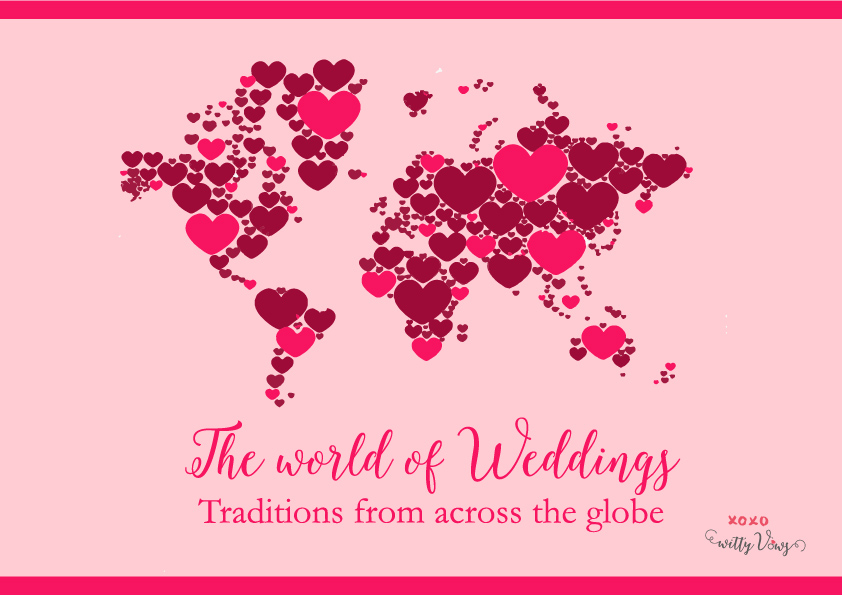 world of weddings - weird traditions from across the globe by witty vowsworld of weddings - weird traditions from across the globe by witty vows