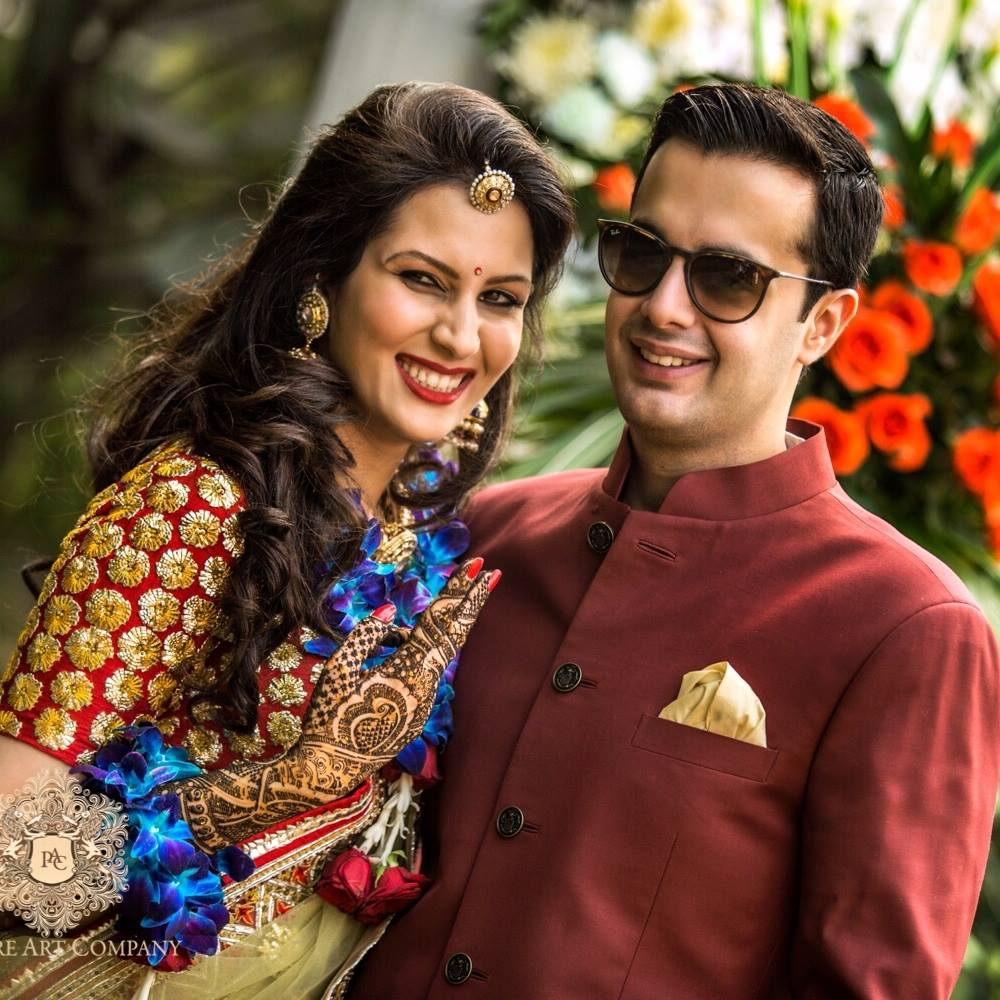 About Us - A fun and FabuloUS delhi Wedding | Utkarsh & Sakshi | Witty Vows Real wedding Super Brides