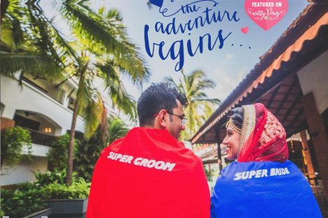 Funny & cute quotes   love quotes   indian couple   bridal quotes