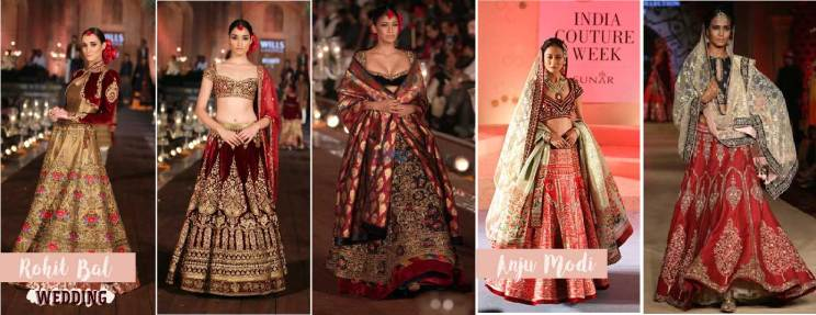 Indian Bridal fashion woes - Indian wedding outfit sale must see for every bride| Bridal fashion for Wedding - Anju Modi + Rohit Bal | Curated by Witty Vows