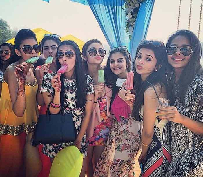 Things you simply must do 3 months before the wedding for every Indian Bride - Hang out and spend time with friends and family | Witty Vows