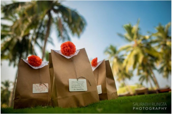 Magic with marigold | DIY decor ideas for the wedding house |Gift them favours with marigold accents| Curated By Witty Vows