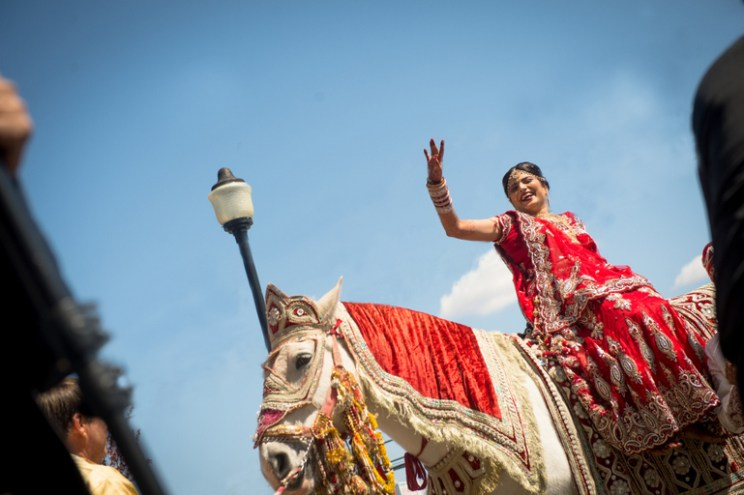 Innovative entry ideas for the Indian Bride | Ride in on a horse - why should boys have all the fun | Curated by Witty vOWs