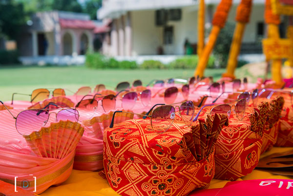 Sunglasses for an Indian Wedding | a must for the couple | gifts and favours | Curated by witty vows