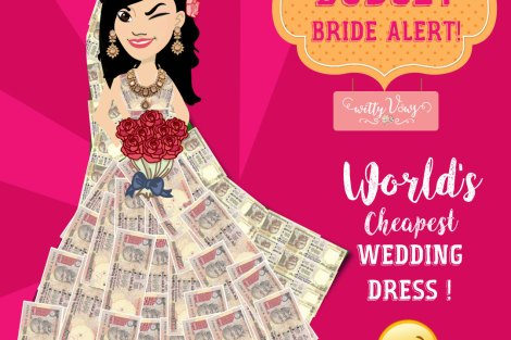 Bridal Fashion   Funny Meme  Indian Economy  Indian Brides  Modified  Notes Banned  Rs 1000  Rs 500   Indian Bride Funny Pictures  Indian Weddings Meme
