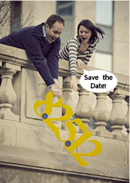 Save the date ideas for Indian weddings | Fun save the date idea - actually sad the date | Curated by Witty Vows