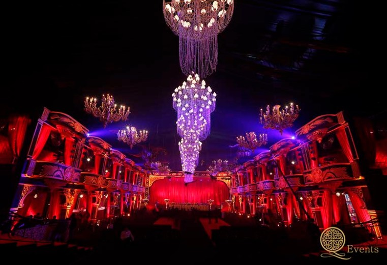 Trends in Indian Weddings - Opera Theme event by Geeta Samuel at Q events | Trends in Wedding decor and design for Indian weddings | An interview with geeta samuels by Witty Vows