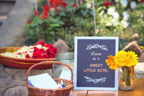 Leave some love | Message ideas and favours from guests for the couple| DIY guestbook idea | Lakeside wedding - outdoor Indian wedding decor ideas | ideas for Indian wedding details | A woodland theme forest destination wedding in the Hills | Bengali wedding by the lakeside | Traditional Bengali wedding ceremony at a destination | Subhashree and Jonathan | Ideas | curated by Witty Vows
