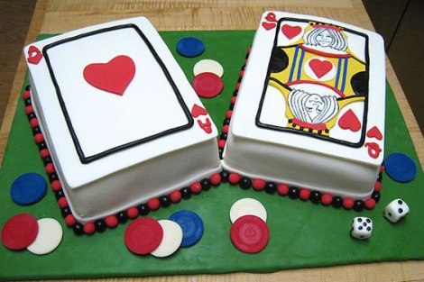 Get cute card themed cakes for the party   First diwali party at home   ideas