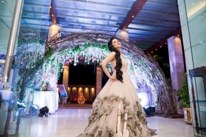 Reception gowns and cocktail dresses for the Indian Bride | click my dreams | Witty Vows