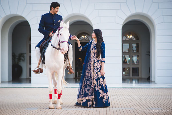 Groom and Bride exit ideas for Indian Weddings | vadai ideas | wedding send off ideas | couple exit ideas | Indian couple exit wedding groom on a horse with bride | Sania Mirza sister wedding Anam Mirza pre wedding shoot