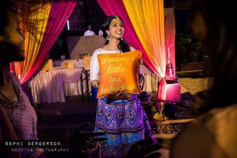 Top Indian Celebrity Weddings 2016 | Stunning wedding ideas from Singer Benny Dayal's wedding | mehndi decor idea - kitsch mehendi cushions