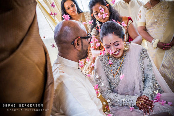 Top Indian Celebrity Weddings 2016 | Stunning wedding ideas from Singer Benny Dayal's wedding | Wedding benny dayal | Bride in a pink sabyasachi stress and gajra