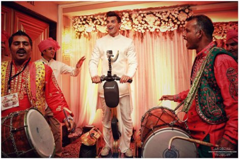 Top Indian Celebrity Weddings 2016 | Stunning wedding ideas from Bipasha Basu and Karan Singh Grover's wedding | Karan Singh Grover enters on a segway | groom entry idea