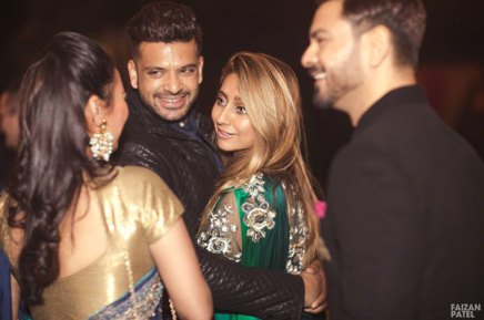 New Indian wedding ideas from VJ Yudi and Aditis Pretty Wedding | Karan Kundra with anushka and kieth