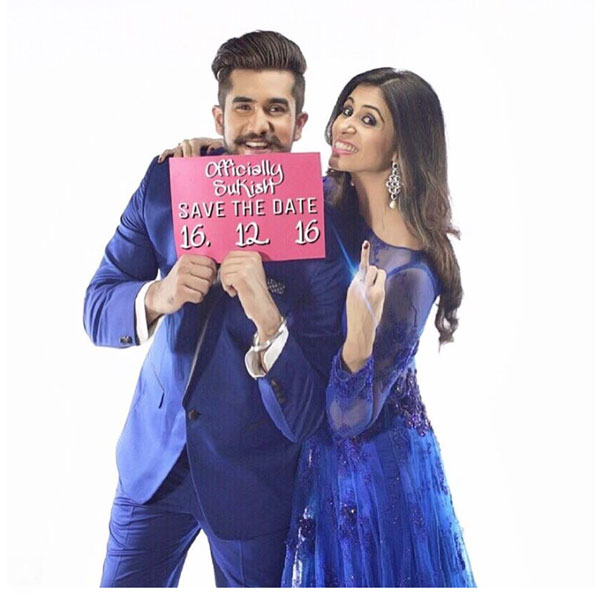 Kishwer Merchant and Suyyash Rai | Save the date | Bachelorette in Goa