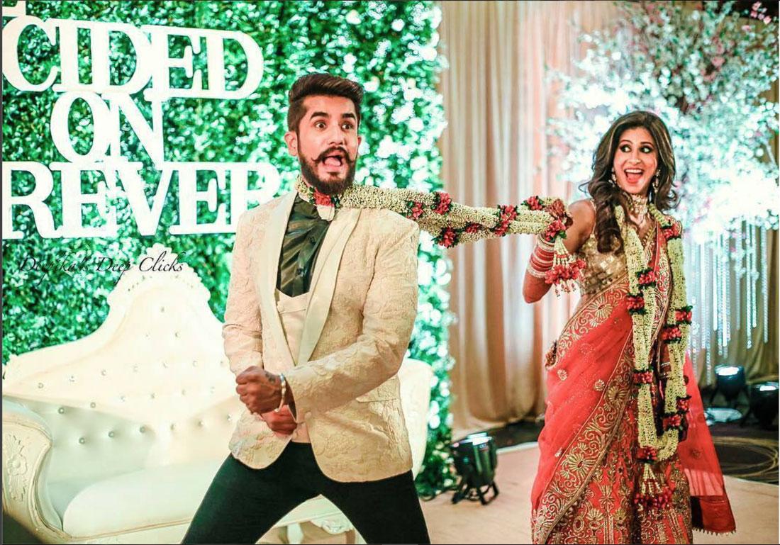 Suyyash and Kishwer's Wedding Reception photos   Couple photo ideas for Indian weddings