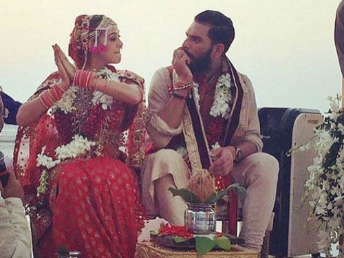 Yuvraj Singh and Hazel Keech wedding goa, Delhi and Chandigarh | Full Scoop | Goa wedding | Curated By witty Vows | Dream Diaries