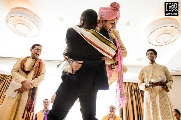 Indian groom entry ideas | Groom lifted by best man | Curated by witty vows