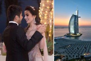 Indian wedding venue in Dubai| Indian destination wedding in Dubai | Indian wedding at burj al arab | vivek bhatia wedding | Dubai wedding | wedding venue