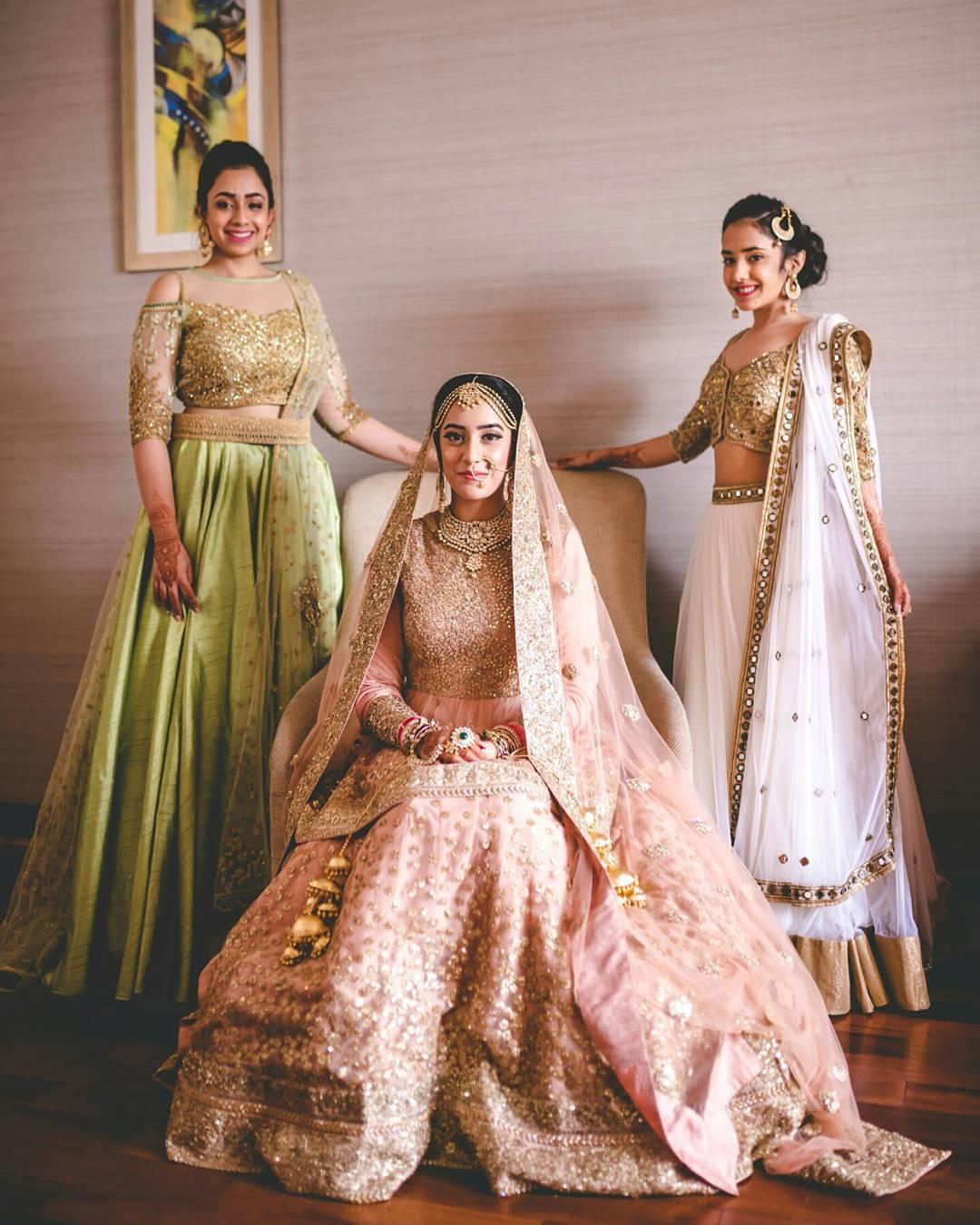 c22c856b8e0d Designer wedding lehengas | Stunning Bridal lehenga colors | Indian Bride |  non red | wedding