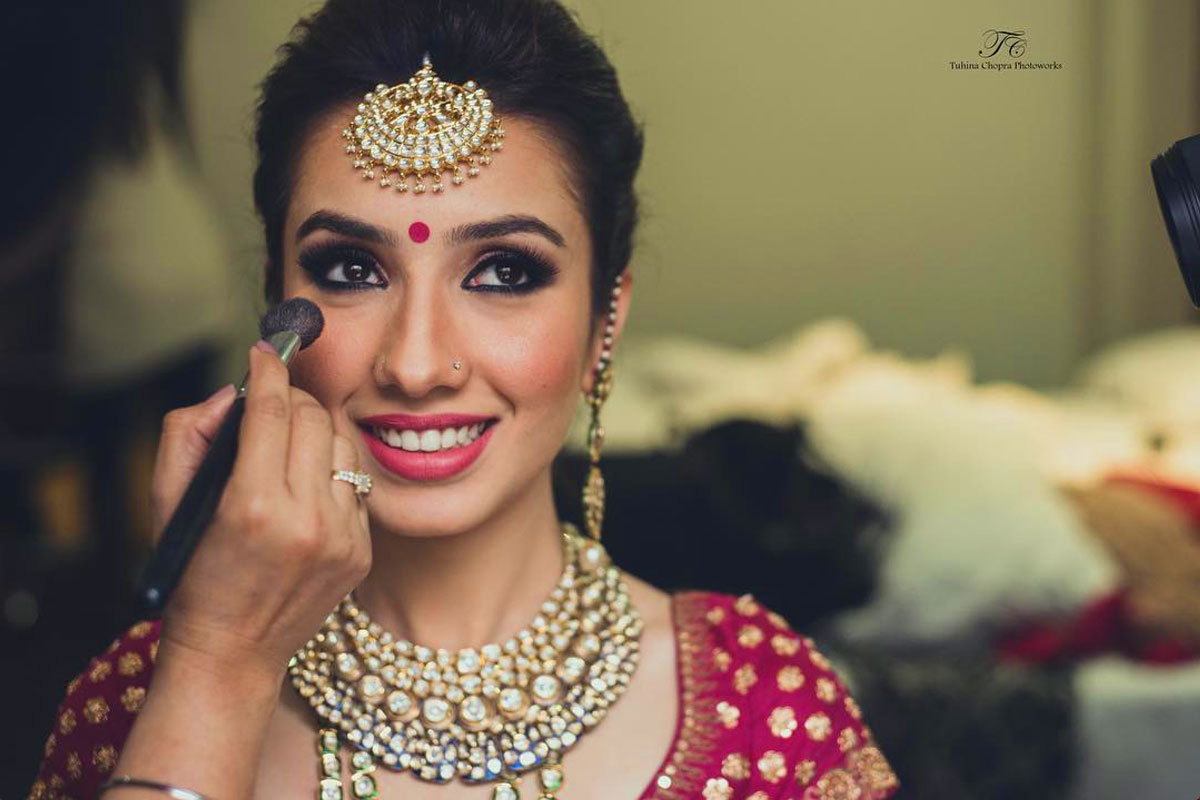 swoon worthy indian bridal makeup trends for the 2017 bride