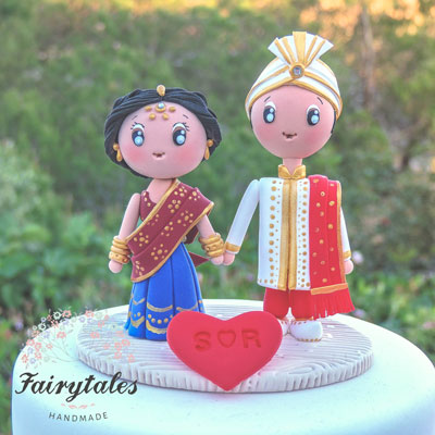 Mehndi Cake Toppers : Personalised wedding cakes the new must have indian