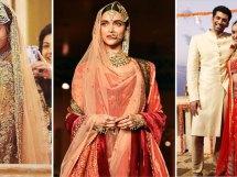 Wedding lehengas from bollywood - Anushka sharma, Deepika Padukone and Shraddha Kapoor | Bollywood fashion | Wedding Lehengas | bollywood lehenga | designer lehenga