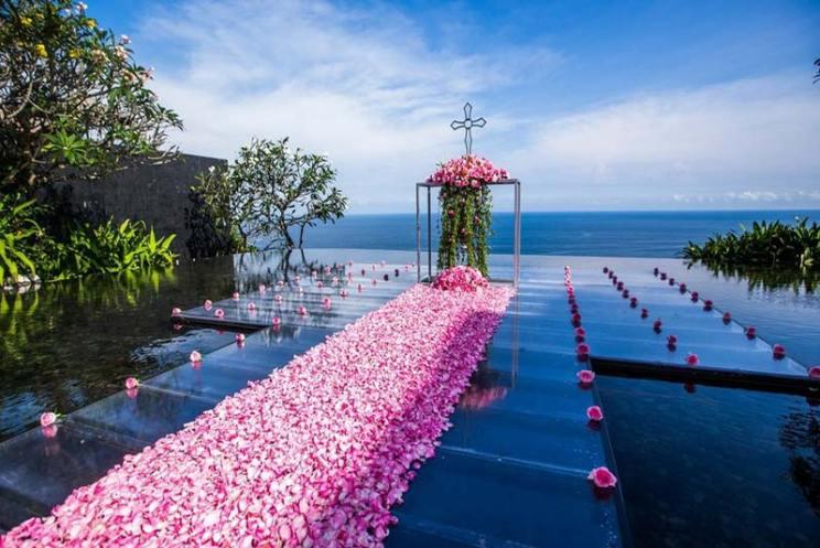 Indian wedding abroad | International destination wedding venues on a budget , Indian wedding destination abroad | Indian wedding in Bali Indonesia | bvlgari hotel
