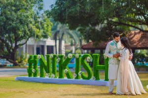 Amazing Indian wedding hashtag ideas from real weddings | How to make a wedding hashtag